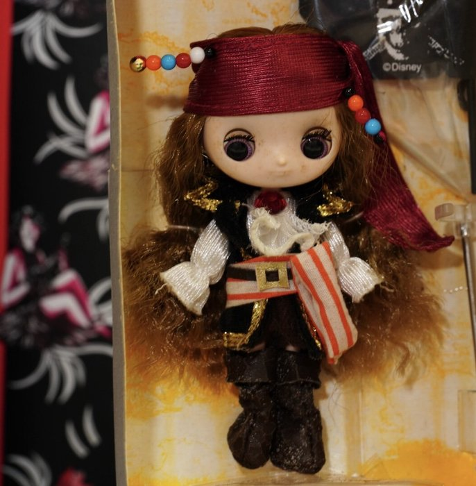 Blythe mini 迷你布 海盜限定版 現貨