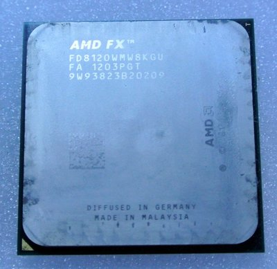 ~ 駿朋電腦 ~ AMD FX FD8120 FD8120WMW8KGU AM3+CPU $1300