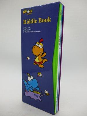 【月界二手書店2】酷龍寶貝 Riddle Book-附書殼(絕版)_3本合售_閣林國際出版 〖少年童書〗AHU
