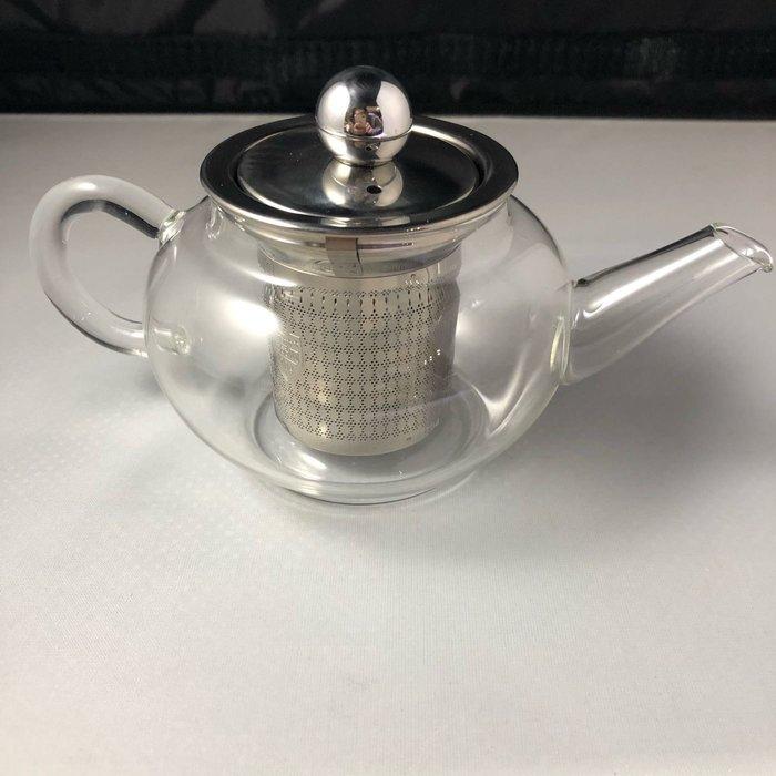 200ml玻璃瓶花茶壺 泡茶壺 小家庭份量耐熱玻璃壺 玻璃花茶壺 304不鏽鋼內膽 款式兩款沏茶壺 茶具