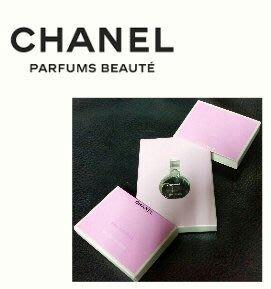 CHANEL 香奈兒 CHANCE 粉紅甜蜜版 女性淡香水 1.5ml 迷你限量精巧版 方形版