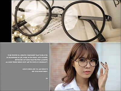 Miss Banana (現貨)【M-8004-2830】韓國款超夯原型大眼鏡~5色(特)