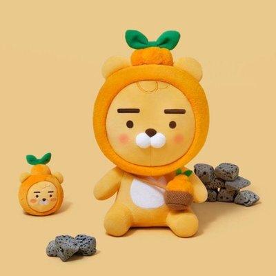 預購 KAKAO FRIENDS 濟州島限定 橘子RYAN娃娃