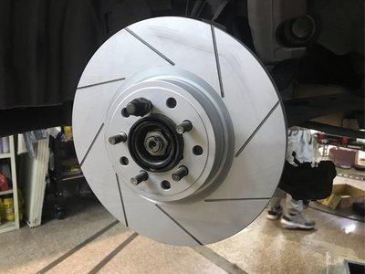 DK汽車精品OUTBACK專用前輪碟盤精緻防鏽畫線碟盤LEGACY LEVORG WRX森林人 XV IMPREZA GT GK