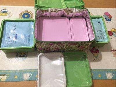 日本限定 Afternoon Tea保冷餐盒組(全新)