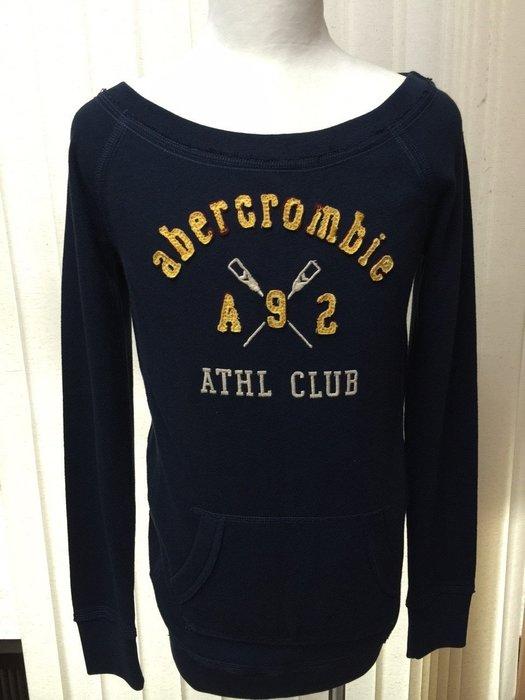 abercrombie 長袖衣毛料保暖 圓領 XL 質感柔軟細緻 市價$3980