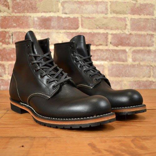 INDiCE ↗ Red Wing Beckman 9014 經典圓頭六吋工作靴 沉穩黑