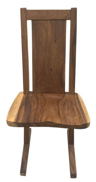 【樂居二手家具館】中古傢俱 DNA615GE2*水柚木餐椅 餐桌*中古辦公家具買賣 會議桌椅 滿千送百豐富喜悅苗栗彰化