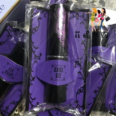 DM INTER美國柜紫色便攜化妝刷ANNA SUI安娜蘇腮紅刷精靈薔微頰彩刷