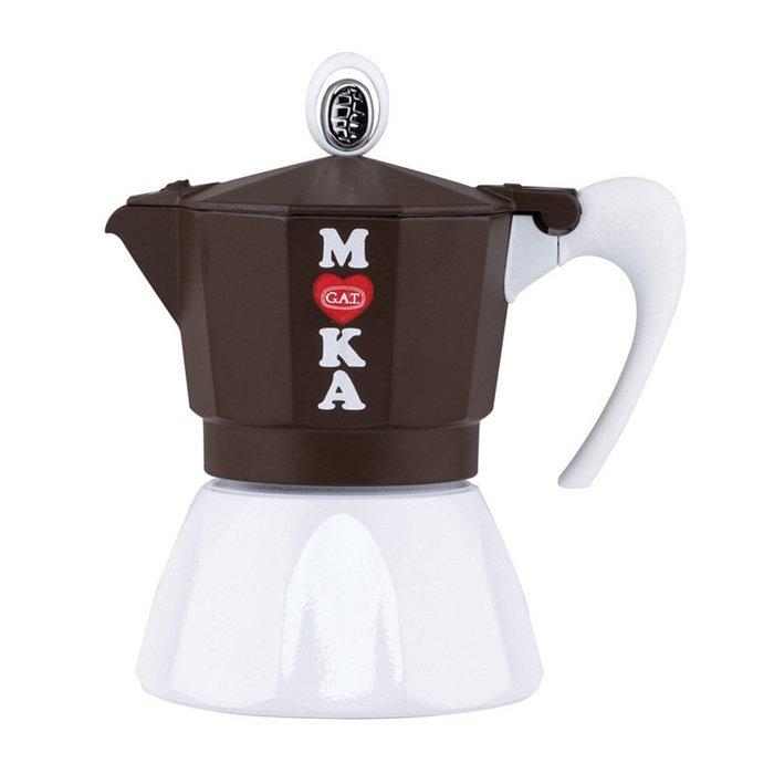 〖洋碼頭〗義大利原產進口GATGolosa咖啡壺摩卡壺咖啡機防灑防燙 L3037