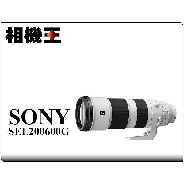 ☆相機王☆Sony FE 200-600mm F5.6-6.3 G OSS〔SEL200600G〕公司貨【接受客訂】5