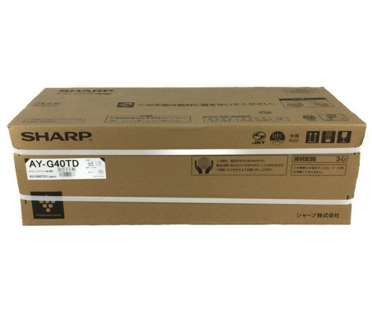 【TLC代購】SHARP 夏普 AY-G40TD 冷氣(組) ❀新品❀ (19-04)