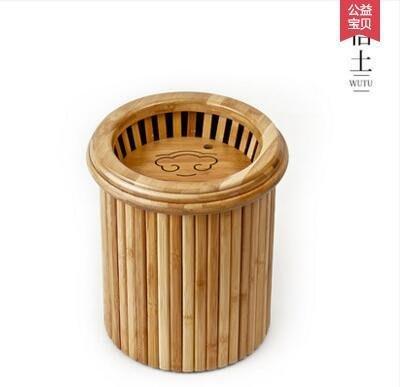 【優上】悟土 茶桶茶渣桶茶水桶垃圾桶接水桶竹製