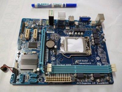((台中市)技嘉主機板GA-H61M-DS2加 Intel® Core™ i5-2500處理器