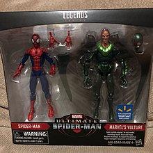 MARVEL LEGENDS-蜘蛛俠SPIDER-MAN+VULTURE 6寸 FIGURE 2PK(THOR CAPTAIN AMERICA IRON MAN