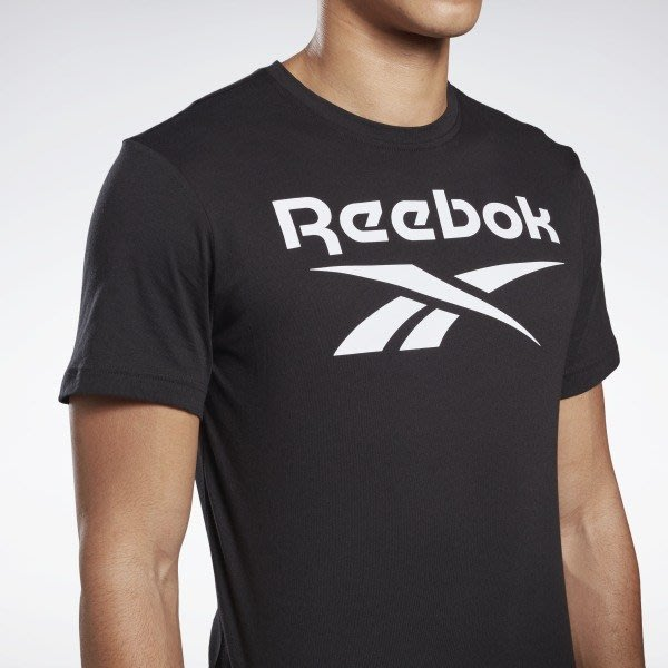 FOCA REEBOK CLASSICS LOGO 運動 純棉 經典 T恤 基本款 短袖T 百搭  黑色 FP9150