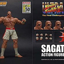 全新現貨 Storm Collectibles Street Fighter : Sagat Sdcc 2019