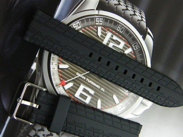 錶帶屋 22mm 輪胎紋矽膠帶 代用 沛納海 panerai.Fortis.Oris.梭曼.Omega.ball  現貨商品