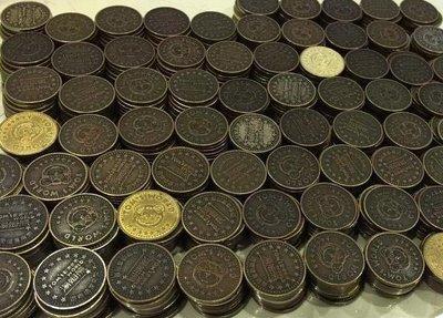 湯姆熊代幣ㄧ枚2.2元,有500枚