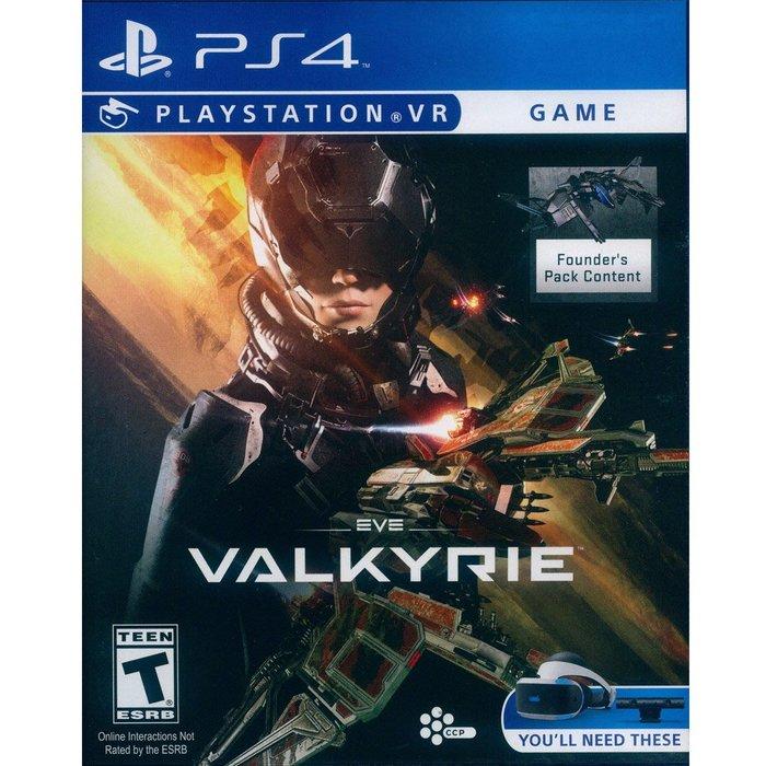 (全新已拆) PS4 VR EVE:女武神 英文美版 附特典 EVE:Valkyrie