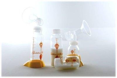 ╭☆金湯匙*╮標準口徑金湯匙玻璃奶瓶B組母乳儲存瓶含 買10送2