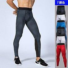 男士立體印花長褲 運動健身跑步訓練3D印花速乾彈力緊身長褲【諾凱思專業賣場】ny464