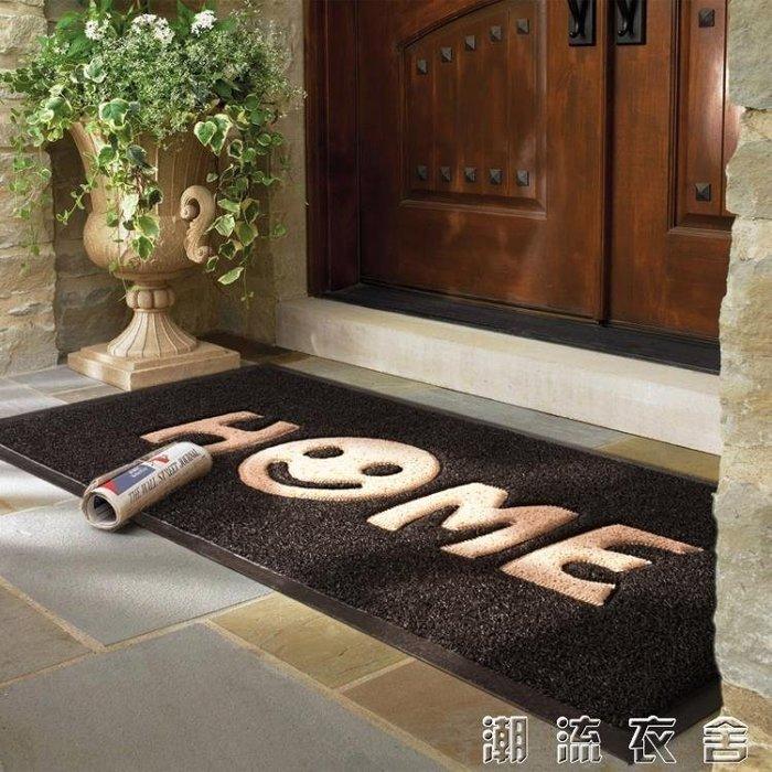 進門地墊入戶門大門入門入戶絲圈蹭腳墊子踩地毯家用門廳門口門墊YXS