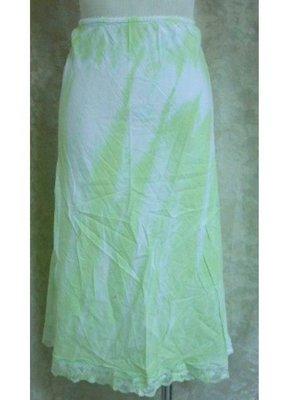 ~麗麗ㄉ大碼舖~大尺寸S-L(28-42吋)蘋果綠/駝色水洗印花及膝短裙~特價拍賣