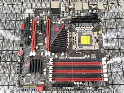 【含稅】ASUS 華碩 RAMPAGE III GENE R3G X58 DDR3 1366 主機板 保三個月