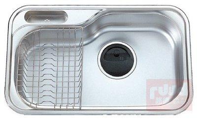 【路德廚衛】ENZIK sink韓國不鏽鋼水槽- JIS-840PR (右大) 吸音處理不鏽鋼水槽 歡迎來電詢問!!