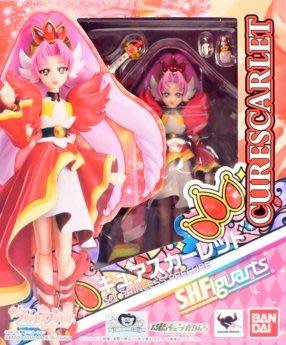 日本正版 萬代 S.H.Figuarts SHF GO 光之美少女公主 赤紅天使 可動 模型 公仔 日本代購