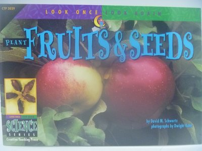 【月界二手書店】Plant Fruits & Seeds-Look Once,Look Again 〖少年童書〗CER