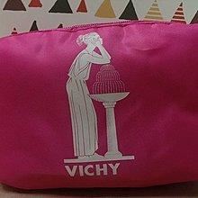 1元加價購【Vichy 薇姿】化妝包-粉紅