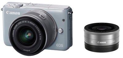 【eWhat億華】Canon EOS M10 搭 15-45mm 22mm 雙鏡組 灰色 公司貨 買到賺到 大出清【2】