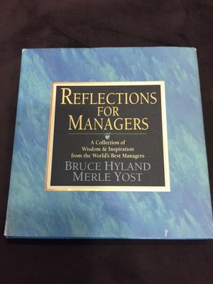 REFLECTIONS FOR MANAGERS