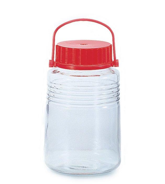 ☘小宅私物☘ 日本製梅酒罐 4000ml 儲物罐 釀酒罐 釀酒瓶 水果酒 現貨附發票