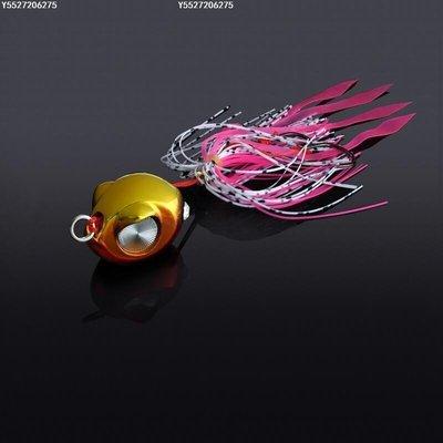 【可開發票】巨洋【暴雷】60克炎月鐵板路亞胡須佬亮片淡水海釣馬鮫海鱸假餌[五金]