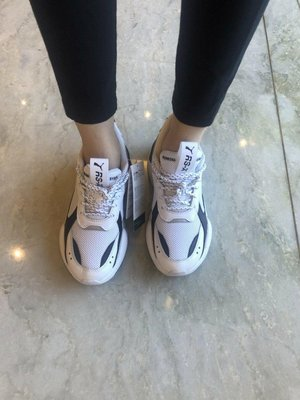 PUMA RS-X CORE RSX 黑白 老爹鞋 泫雅款 24.5    低價3500