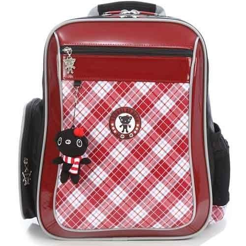 【葳爾登】UNME小學生書包,超輕柔軟防水背包兒童後背包【耐重護肩帶護脊書包】3214紅色