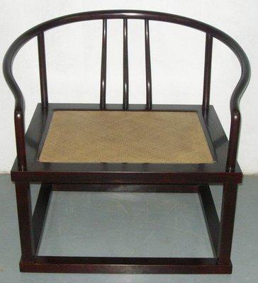 【一(藝)窩】近代 梳背禪椅~老榆木~原木色