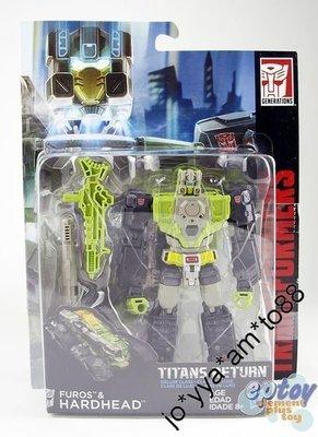Hasbro 變形金剛 Transformers Generations Titans Return Deluxe Class Furos & Hardhead