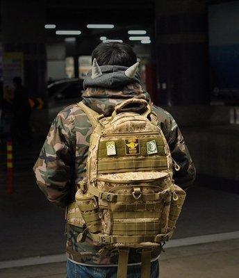 戰術後背包 RESCUER拯救者TAD III 露營登山旅行porter箱 相機攝影包supreme同款造型書包