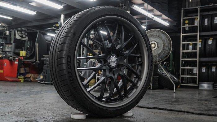 國豐動力 SSR 20吋圈 5x114.3 + 245/35/20 Michelin PS4s