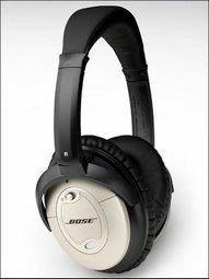 QC2 原廠 BOSE Quiet Comfort QC-2降噪耳機 高度集成的降噪耳機,金/銀色,非翻新品, 9成新