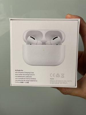 全新蘋果Apple airpods pro 無線藍芽耳機 降噪功能 台灣原廠公司貨