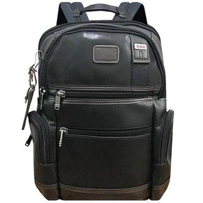 皮藏客 男人館 TUMI/途米 JK072 男女款全牛皮真皮時尚商務電腦雙肩包大容量休閒旅行後背包可容納15寸電腦