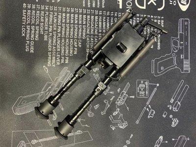 陽春版 M3 金屬戰術 腳架 六段伸縮可調 SLB04