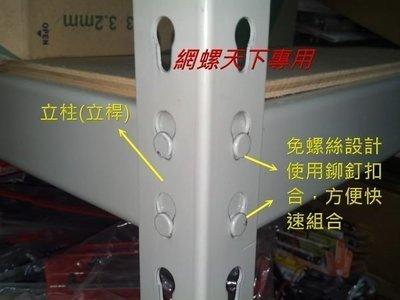 網螺天下※DIY免螺絲角鋼、組合架、倉儲架、魚缸架、鐵架、 置物架『台灣製造』27元/尺