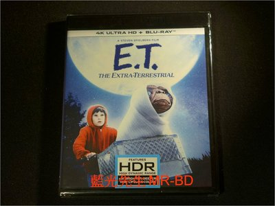 [4K-UHD藍光BD] - ET外星人 E.T. The Extra-Terrestrial UHD+BD 雙碟限定版