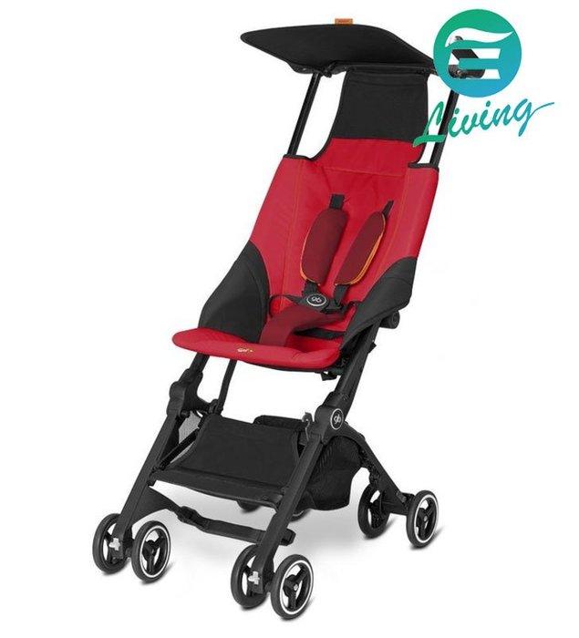【易油網】GB GOLD Pockit 嬰幼兒推車 紅 超折疊 出國超適用Future Perfect #43713